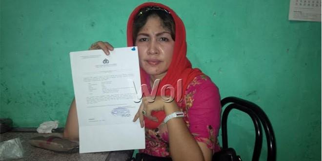Maysarah Nasution korban penipuan mantan Kapolres Blitar AKBP Abdul Rahman Indarto (WOL Photo)