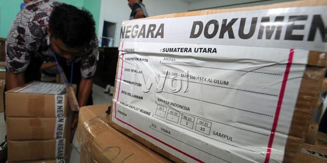 Un Smp Hari Ini Disdik Aceh Klaim Distribusi Naskah Un Lancar Waspada Online