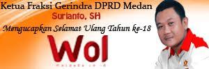 Ketua Fraksi Gerindra DPRD Medan