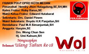 Fraksi-PDI-P-DPRD-Medan