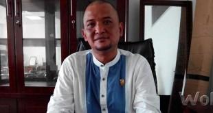 Roby Barus, Ketua Komisi A DPRD Medan (WOL Photo/M. Rizki)