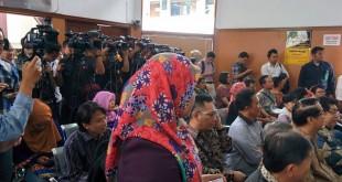 Ratusan Pengacara Hadiri Sidang Perdana Praperadilan OC Kaligis (foto: Raiza/Okezone)