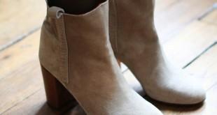 Ankle boots bahan suede (Foto: Louiseparis)