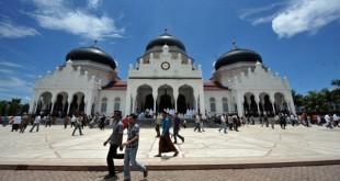 Masjid Baiturrahman (Foto: AFP)