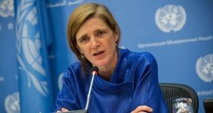 Duta Besar AS untuk PBB, Samantha Power (foto: Istimewa)