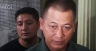 Kapolresta Medan Kombes Pol Mardiaz K Dwihananto didampingi Kasat Reskrim Kompol Aldi Subartono memberikan keterangan kepada Waspada Online.(WOL Photo/gacok)
