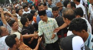 Paslon Bupati dan Wakil Bupati Labuhanbatu, nomor urut 4, Suhari –Ihsan mendapat dukungan masyarakat Labuhanbatu.(WOL Photo)