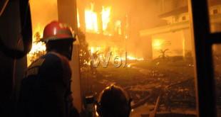 Ilustrasi kebakaran (WOL Photo/Ega Ibra)
