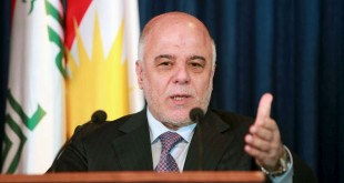 Perdana Menteri (PM) Irak Haider Al-Abadi (reuters)
