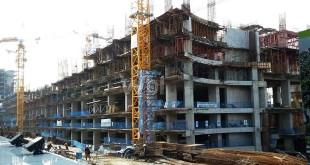 Proyek bangunan podomoro yang memakan korban jiwa (WOL Photo/Gacok)
