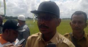 Kepala Dinas Pertanian dan Tanaman Pangan Kabupaten Aceh Utara, Mukhtaruddin. (WOL Photo/Chairul Sya'ban)