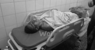 korban tewas, Monang Hutabarat (45), Ketua Ranting IPK Kelurahan Durian, Kecamatan Medan Timur, Sabtu (30/1). WOL Photo/Mrizky
