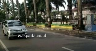 suasana Jl Katamso Medan (wol/cza)
