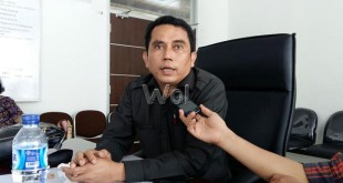 Anggota DPRD Medan, Paul Mei Anton (WOL Photo/M. Rizki)