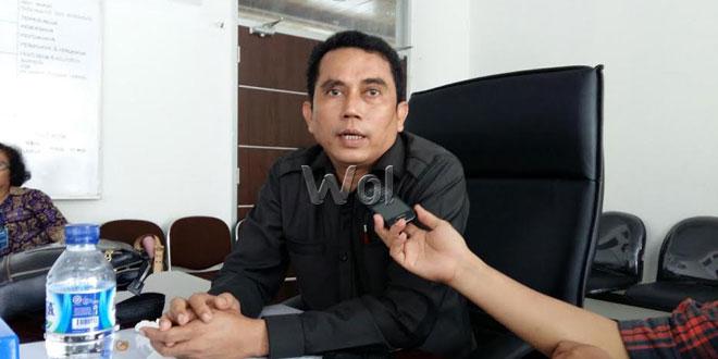 Anggota DPRD Medan, Paul Mei Anton (WOL Photo/M. Rizki)