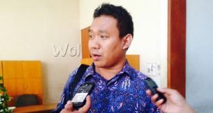 Komisi C DPRD Sumut,  Sutrisno Pangaribuan (WOL Photo)