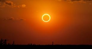 Ilustrasi gerhana matahari (foto: ist)