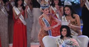 Maria Harfanti punya pesan khusus buat juara Miss Indonesia 2016, Natasha Mannuela (Foto: Muhammad Sabki/Okezone)