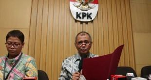 Ketua KPK Agus Rahardjo (foto: Antara)