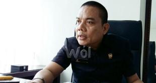 Politisi Golkar Medan, Mulia Asri Rambe. (WOL Photo/M. Rizki)