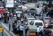 Petugas kepolisian memeriksa kelengkapan dari pengendara kendaraan saat menggelar razia di Jalan Gatot Subroto, Medan, Selasa (5/4). Dari razia tersebut sejumlah pengendara diberi sanksi tilang karena tidak mengikuti aturan kelengkapan untuk berkendara. (WOL Photo/Ega Ibra)
