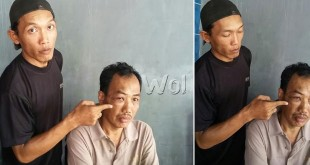 Hery Irlansyah akui anaknya Selamet Riyadi pemakai narkoba.(WOL Photo/Gacok)