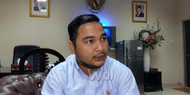 Sekretaris Fraksi PPP DPRD Medan, Irsal Fikri. (WOL Photo/M. rizki)