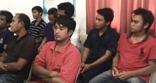 10 WNI yang bebas dari sanderaan Abu Sayyaf. (Foto: Instagram Jokowi)