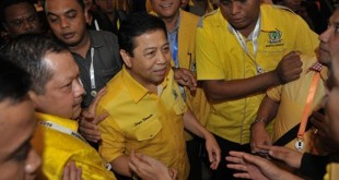 Setya Novanto terpilih sebagai Ketua Umum Golkar. (Foto: Antara)