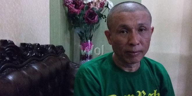 """Pardi Irawan, akui istri """"lari"""" bahkan sudah menikah dengan pria diduga toke babi. (WOL. Photo/gacok)."""