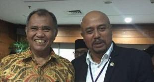 Putu Sudiartana Foto Bareng Ketua KPK Agus Rahardjo (foto: Ist)