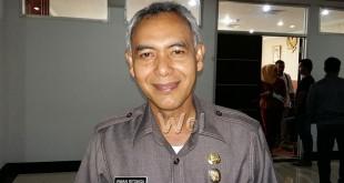 Kepala Badan Keuangan Pemko Medan, Irwan Ritonga. (WOLPhoto/M. Rizki)