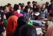 Suasana sekolah SMU Negeri 5 saat Penerimaan Peserta Didik Baru,beberapa waktu lalu. (WOL Photo/M. Rizki)