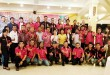 Temu Ramah Keluarga Besar Himpunan Masyarakat Karo Indonesia (HMKI) di Kenanga Rastaurant, Jalan Jamin Ginting Medan, Rabu (27/7).