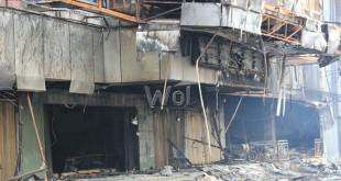 Kebakaran pasar aksara (WOL Photo)