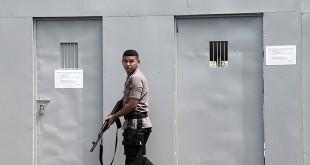 Kondisi Lapas Nusakambangan jelang eksekusi mati. (Foto: Antara)