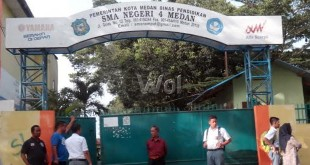 SMA Negeri 4 Medan (WOL Photo/M. Rizki)