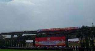 Upacara HUT Ke-70 Bhayangkara (foto: Dara/Okezone)