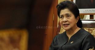 Menteri Kesehatan RI, Prof Nilla F Moeloek (Foto: Okezone)
