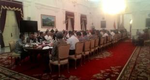 Rapat Kabinet Paripurna (foto: Reni/Okezone)