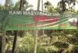 Salah satu spanduk penolakan PT Mandum Payah Tamita yang dibentangkan di sejumlah titik wilayah Lhoksukon.(WOL Photo/Chairul Sya'ban)