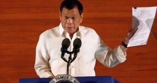 Presiden Filipina Rodrigo Duterte. (Foto: Reuters)