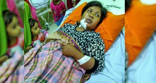 Nursyiah (36), Korban Penganiayaan.(WOL Photo/chairul sya'ban)