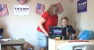 Weston Imer menjalankan kantor kampanye Donald Trump. (Foto: Fox 31)