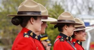 Polwan dari Kepolisian Nasional Kanada (RCMP) (Foto: Mark Blinch/Reuters)