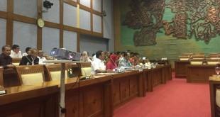 Suasana Rapat Dengar Pendapat (RDP) di DPR bersama Kementerian Pariwisata (Foto: Dimas Andhika Fikri/Okezone)