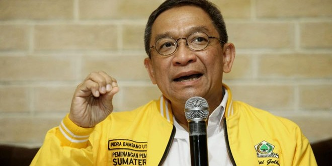 Politikus Partai Golkar, Indra Bambang Utoyo (foto: detik)