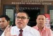 Razman Arif usai menggelar perkara di Poldasu terkait dugaan penipuan oleh Bupati Madina, Dahlan Hasan Nasution, Selasa (27/9). (WOL Photo/muhammad rizki)