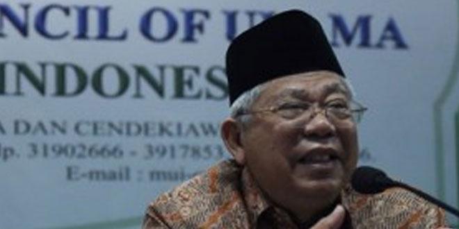 KH Maruf Amin (foto: Antara)