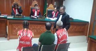 WN Malaysia saat dijatuhi hukuman mati. (Foto: Yan Yusuf/Sindonews)